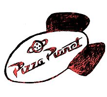 Pizza Planet Photographic Print