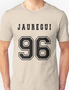 JAUREGUI - 96 // Black Text T-Shirt