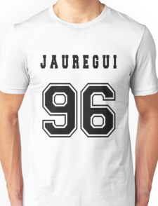 JAUREGUI - 96 // Black Text Unisex T-Shirt