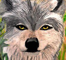 The Grey Wolf by JoAnnHayden