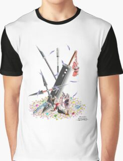 Final Fantasy VII Illustration. Graphic T-Shirt