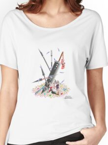 Final Fantasy VII Illustration. Women's Relaxed Fit T-Shirt