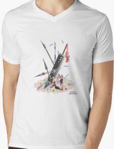 Final Fantasy VII Illustration. Mens V-Neck T-Shirt