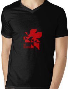 Neo Nerv Mens V-Neck T-Shirt