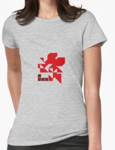 Neo Nerv Womens Fitted T-Shirt
