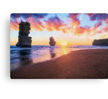 12 Apostles with Marshmallow Skies  (EH) Canvas Print