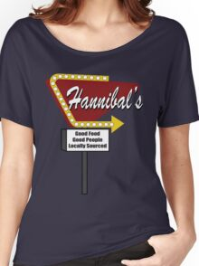Hannibals Diner Women's Relaxed Fit T-Shirt