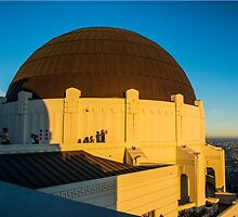 Griffith Observatory at sunset. by philw