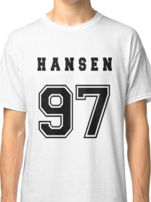 HANSEN - 97 // Black Text Classic T-Shirt