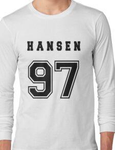 HANSEN - 97 // Black Text Long Sleeve T-Shirt