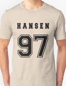 HANSEN - 97 // Black Text T-Shirt