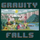 8-Bit Gravity Falls by jehnner