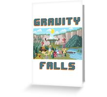 8-Bit Gravity Falls Greeting Card