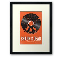 Shaun of the dead Framed Print