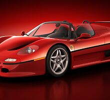 Ferrari F50 - Flare by Marc Orphanos