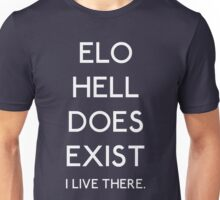 ELO Hell Does Exist - White Unisex T-Shirt