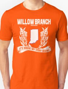 WILLOW BRANCH,INDIANA T-Shirt