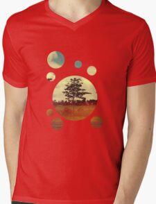 Trees Mens V-Neck T-Shirt