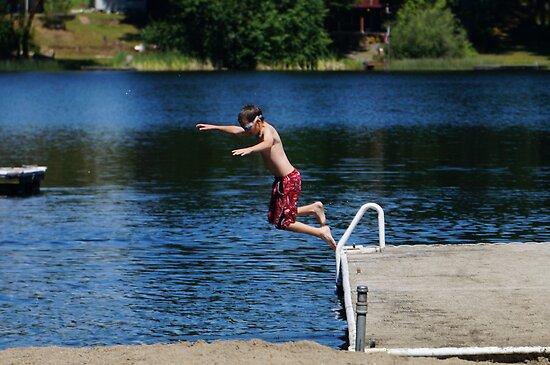 Leap of faith by Rainydayphotos