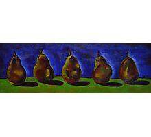 Picking Pears for Grandma Photographic Print