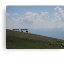 The Best Seats in Innsbruck Canvas Print