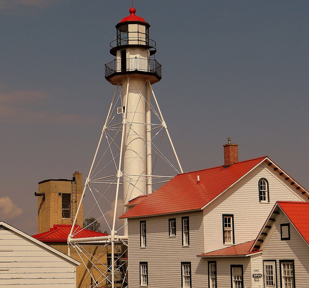 Whitefish Point Lighthouse by Mike Griffiths
