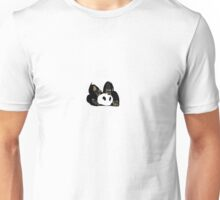 Playful panda Unisex T-Shirt