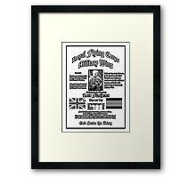 Flashearts Royal Flying Corps Framed Print
