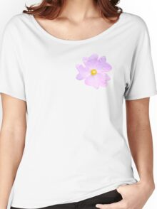 Pale Pink Flower Women's Relaxed Fit T-Shirt