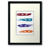 TMNT Art Framed Print