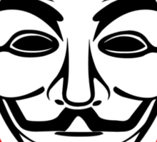 Anonymous - We Are Legion Sticker
