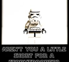 """""""Aren't you a little short for a Stormtrooper?"""" by Ian James"""