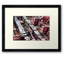 Behind Chinatown (Manchester) Framed Print