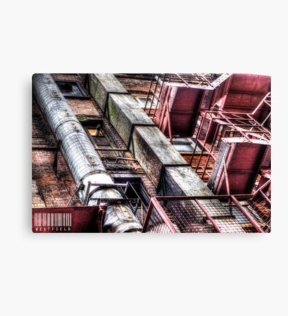 Behind Chinatown (Manchester) Canvas Print