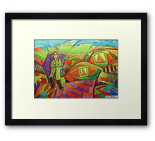 386 - THE EYES OF THE WORLD - DAVE EDWARDS - 2013 Framed Print