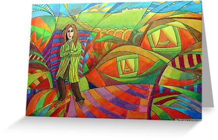 386 - THE EYES OF THE WORLD - DAVE EDWARDS - 2013 by BLYTHART