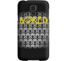 Sherlock - Bored (with wallpaper) Samsung Galaxy Case/Skin