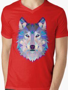 Wolf Animals Gift Mens V-Neck T-Shirt