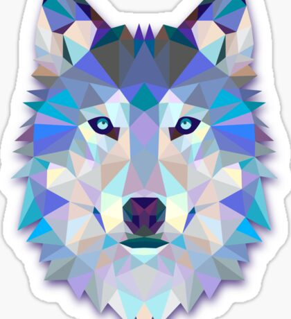 Wolf Animals Gift Sticker