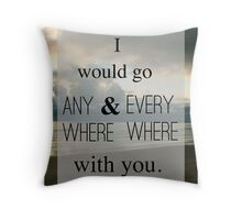 Wherever You Will Go Throw Pillow