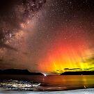 Aurora Australis @ Safety cove Tasmania  by Robert-Todd