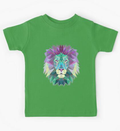 Lion Animals Gift Kids Tee