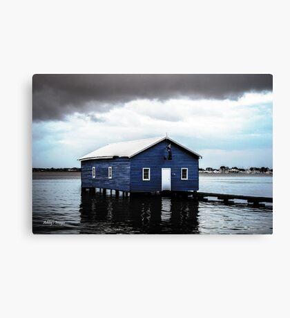Crawley Boatshed Canvas Print