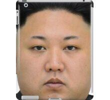 Kim Jong-un Face on something... :D iPad Case/Skin