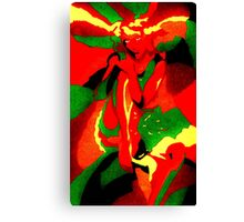Abstract lady Canvas Print