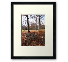 Life's Russet Hue Framed Print