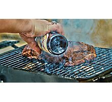 This is how we grill down south Photographic Print