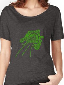 Road works - Green Women's Relaxed Fit T-Shirt