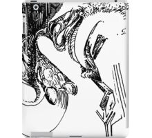 freestyle ink drawing 004 iPad Case/Skin