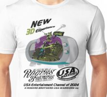 usa 3dtv by rogers brothers Unisex T-Shirt